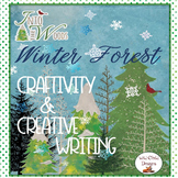 Winter Craftivity and Creative Poetry Writing