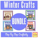 Winter Crafts BUNDLE - Winter Kids, Mitten Kids, Penguin,