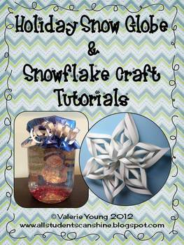 Winter Crafts Tutorials- A FREEBIE!