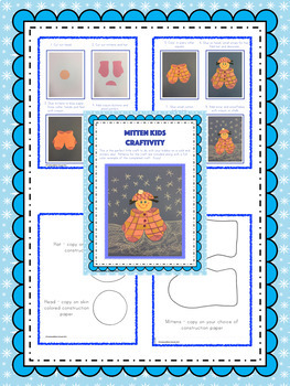 Winter Crafts and Craftivity - Mitten Kids