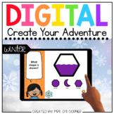 Winter Create Your Adventure [14 digital activities] | Dis