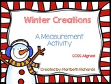 Winter Measurement {CCSS Aligned}