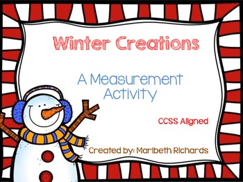 Winter Measurement {CCSS Aligned}