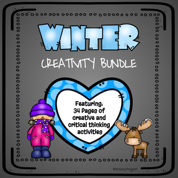 Winter Creativity Bundle| GATE, Enrichment, Early Finishers