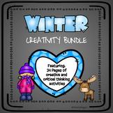 Winter Creativity Bundle| GATE, Enrichment, Early Finishers