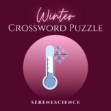 Winter Crossword Puzzle