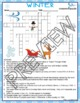 Winter Activities Crossword Puzzle and Word Search
