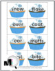 Compound Words - Winter Theme