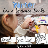 Sight Word Readers: Winter Cut a Sentence - Using High Frequency Words