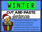 Winter Cut and Paste Sentences