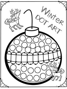 Winter DOT ART