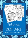 Winter DOT ART