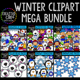 Winter Clipart Mega Bundle {Creative Clips Digital Clipart}