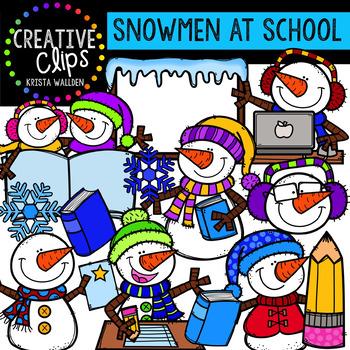 Winter Clipart Mega Bundle {Creative Clips Digital Clipart}