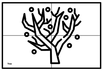 Winter, December, January Collaborative Art Project, Coloring Pages, Art Plan
