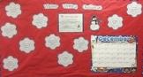 Winter December January Writing Bulletin Board