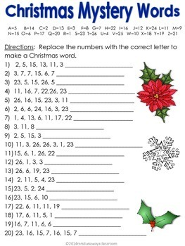 Winter / December Packet