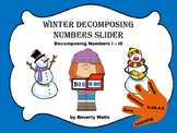 Winter Decomposing Number Slider