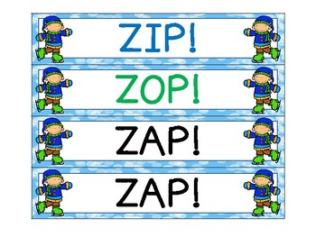 Winter Degrees of Adjectives ZIP, ZAP, ZOP!