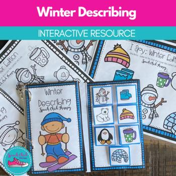 Winter Describing: Interactive Activities for Speech Therapy