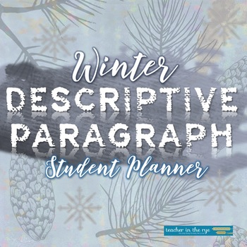 Descriptive essay winter
