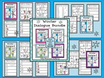 Winter Dialogue Bundle (Sets 1-4)