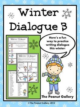 Winter Dialogue- Set 3