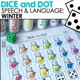 Speech & Language: Winter Dice & Dot