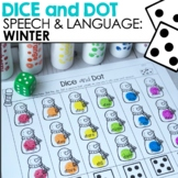 Speech & Language: Winter Dice & Dot