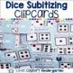 Winter Math Centers Kindergarten Bundle: Clipcards,Ten Frames, and Numbers