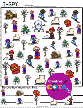 Winter Differentiated Worksheets and Activities
