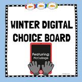Winter Digital Choice Board-PicCollage #freebie
