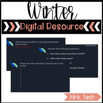 Winter Digital Resource
