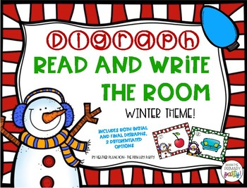 Winter Digraph Read and Write the Room