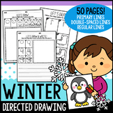 Winter Directed Drawing