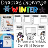 Winter Directed Drawings Penguins, Polar Bears, Mittens and More!