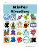 Winter/Holiday Direction Following Activity