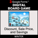 Winter: Discount, Sale Price, Savings - Digital Board Game