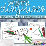 Snowman and Penguin Themed Winter Inferencing Activities No Prep