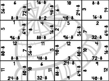 Winter Division Puzzles