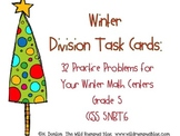Winter Division Task Cards {32 Winter-Themed Task Cards}