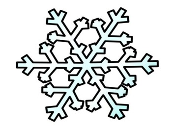 Winter Snowflake Do Together Parent/Child Homework Activity