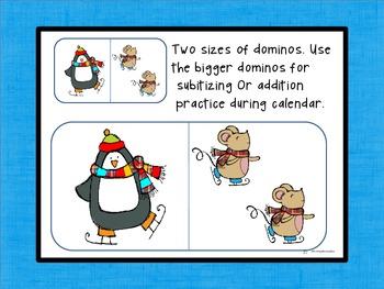 Winter Domino Addition Center