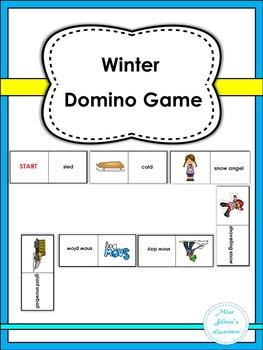 Winter Domino Game