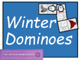 Winter Dominoes: Speech Therapy Game