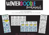Winter Doodle Bookmark