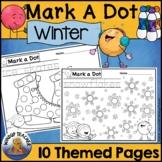 Winter Dot Dauber Set