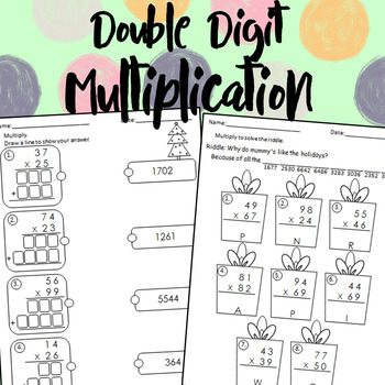 Winter Double Digit Multiplication