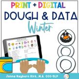 Winter Dough & Data Mats: Speech and Language Play Based P