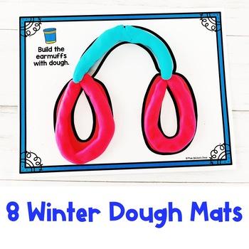 Winter Dough Mats | Fine Motor Practice | Special Education Resource